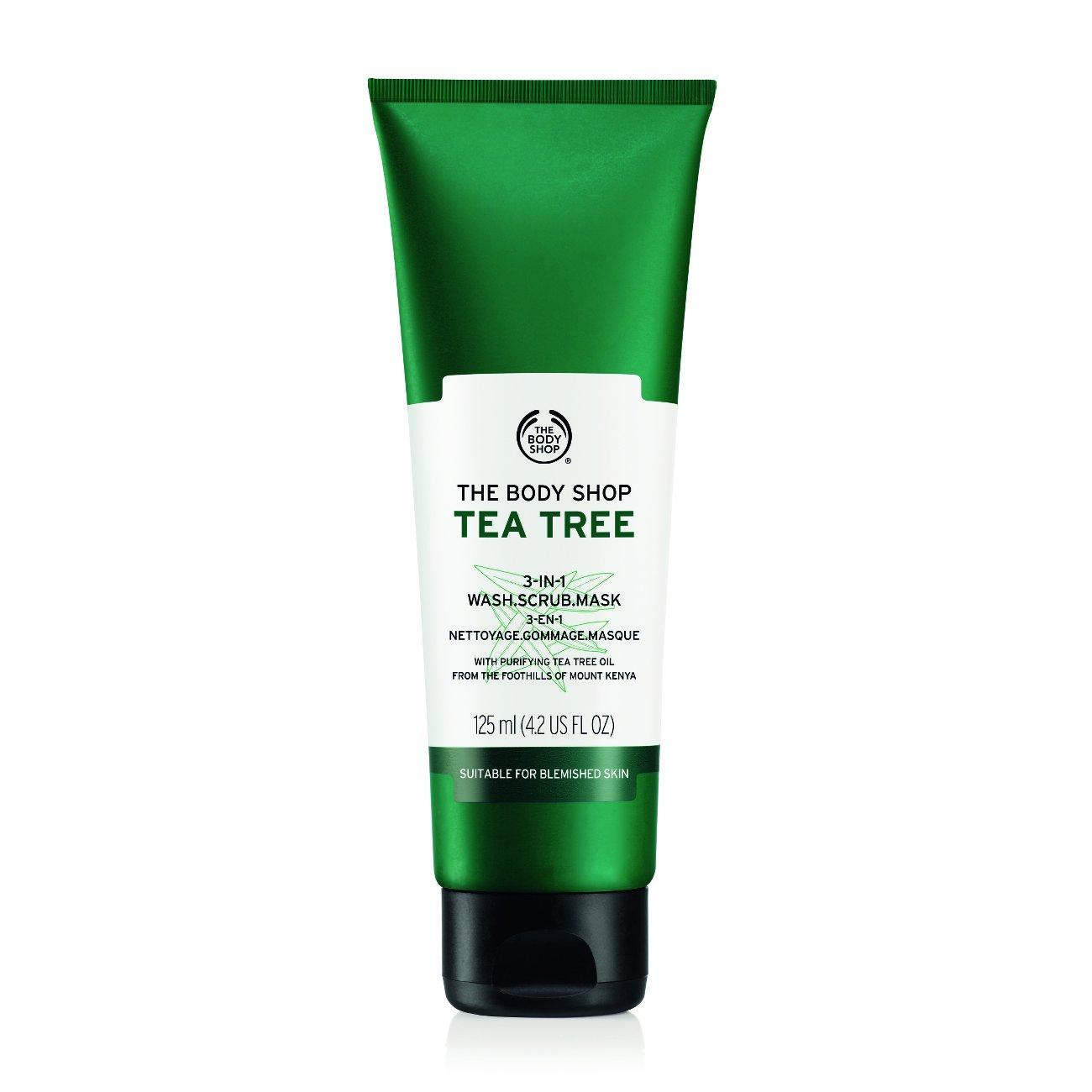 Amazoncom  The Body Shop Tea Tree In WashScrubMask Made - Us zip code kml