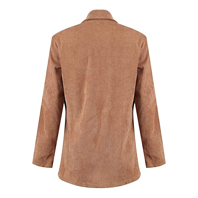 Amazon.com: AOJIAN Women Jacket Long Sleeve Outwear Open ...