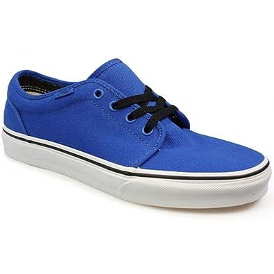 Pour Bleu Baskets 45 Eu Homme Vans Bleu Eu I75gww