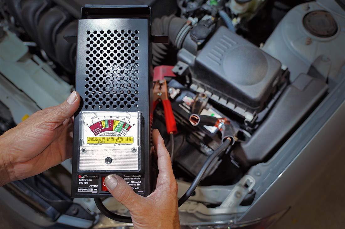 Schumacher Bt 100 Amp Battery Load Tester Automotive Simple But Reliable Car Circuit Diagram