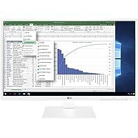 """LG 24BK550Y 23.8"""" Full HD IPS Panel LED Monitör, Pivot Ayarlı, Beyaz"""