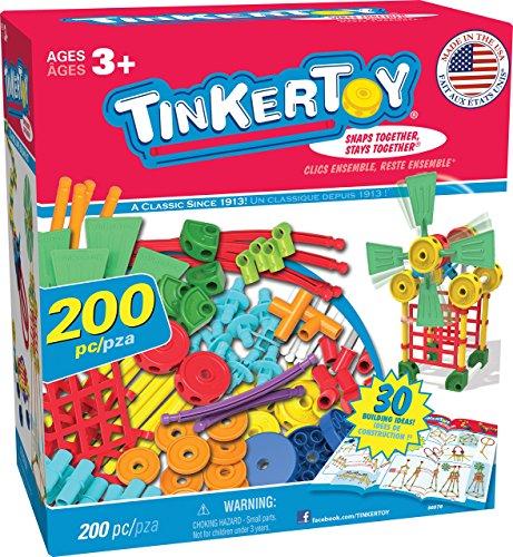 TINKERTOY 30 Model Super Building Set (Amazon Exclusive) (Renewed)