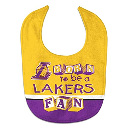 fc4afab8 Wincraft NBA Los Angeles Lakers WCRA2001414 All Pro Baby Bib