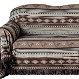Southwest Brown Mustang Sofa Cover