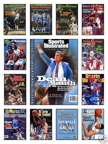 North Carolina Tarheels Sports Illustrated Collection Poster -