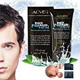 Black Mask for Men Peel off Mask for Men, Suction Black Head Deep Cleansing Anti Aging Whitening