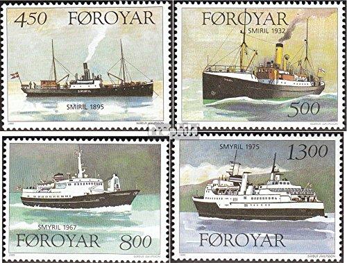 Review Denmark-Faroe Islands 348-351 (complete.issue.)