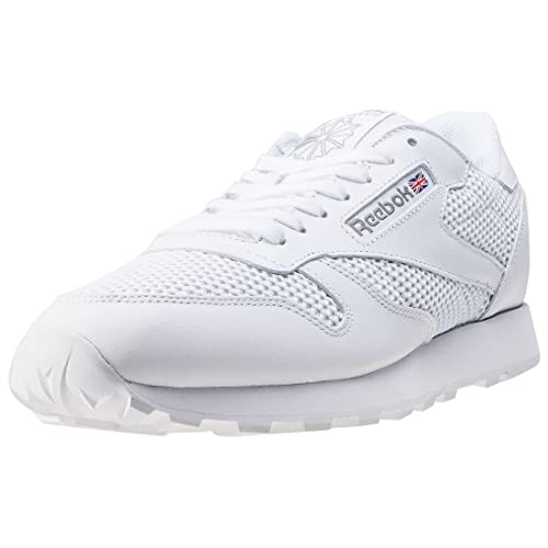 Reebok Classic Leather Knit Mens Trainers White - 10 UK  Amazon.co ... f35506804
