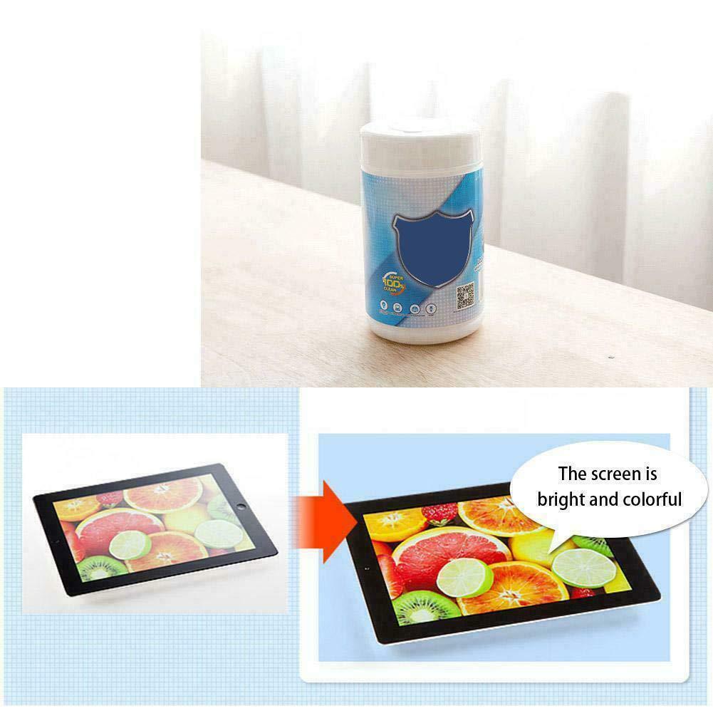 Naroano Lingettes de Nettoyage humides pour /écran LCD ou t/él/éphone Portable