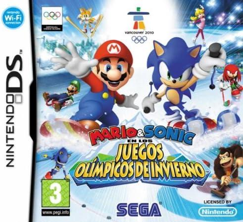Mario & Sonic en los JJ.OO. de Invierno: Amazon.es: Videojuegos