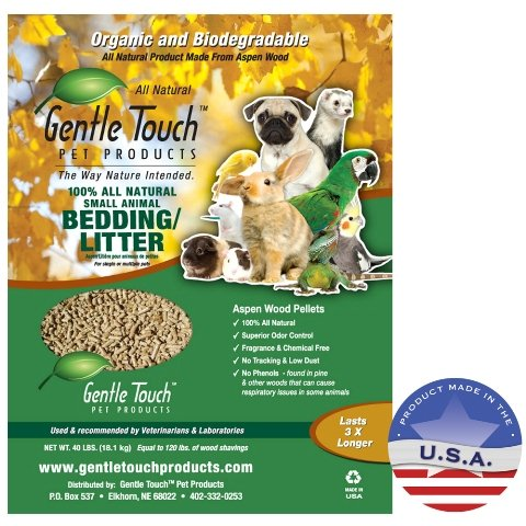 Gentle Touch Products 010LL01-40 Small Animal Bedding by Gentle Touch