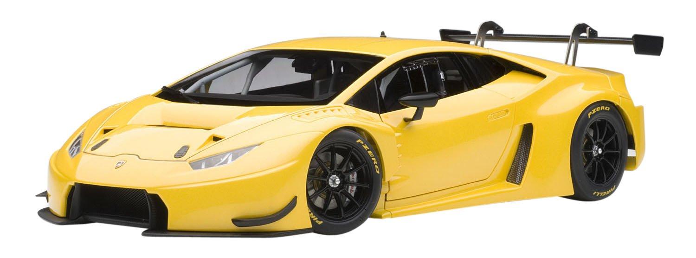 Amazon Com Lamborghini Huracan Gt3 Yellow With Pearl Effect