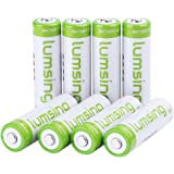 8x Lumsing 1.2V 2850mAh Ni-MH Rechargable AA Battery Batteries