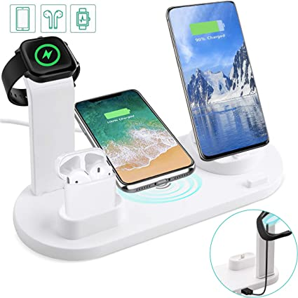 Multi-Functional Worm Design Mobile Phone Holder for Live Stream 360/° Rotating Phone Stand for Samsung iPhone Xiaomi Cell Phone Black