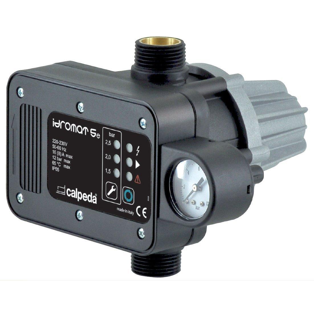 Regulador Bomba IDROMAT 5e Presion Regulable 1, 5/2, 5 115V-230V 50/60Hz CALPEDA