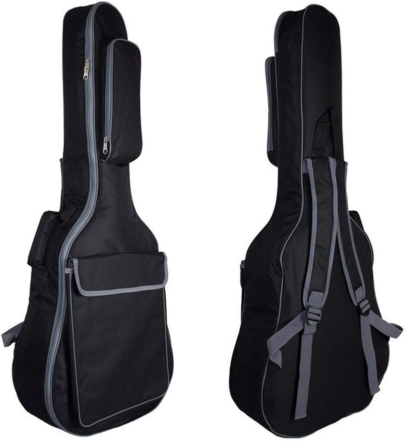 Inch Acoustic And Classical Guitar Gig Bag ,10mm Extra Thick Sponge Padded ,Waterproof Guitar Case, Soft Guitar Backpack Case ,with Dual Adjustable Shoulder Strap, CHENTAOCS Guitar Bag For36,40, 41