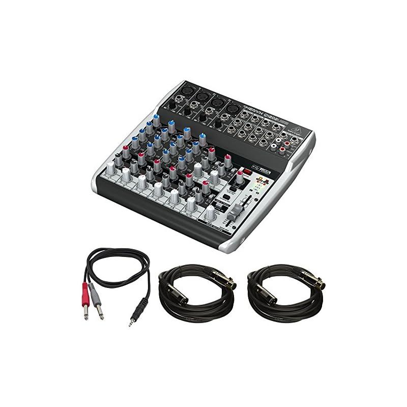 Behringer 12-Channel 2-Bus Mixer w/XENYX