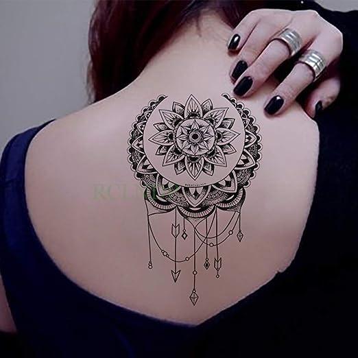 7pcs Impermeable engomada del Tatuaje del cráneo de la Cabeza de ...