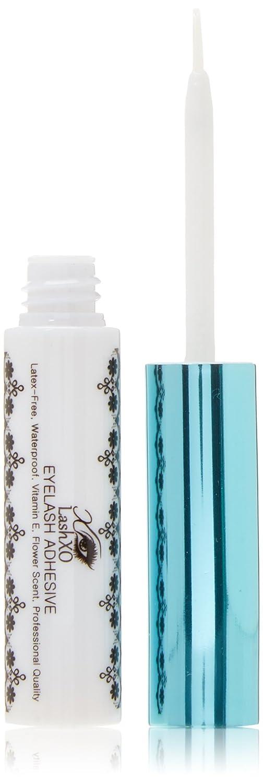 LashXO- Eyelash Adhesive 2 BOTTLES_Brush on LATEX FREE, VITAMIN E, Waterproof, Dries Clear_Premium Quality, Long Lasting Formular Cruetly-Free, Vegan Glue - Compare to House of Lashes, Lash Glue LashXO Lashes