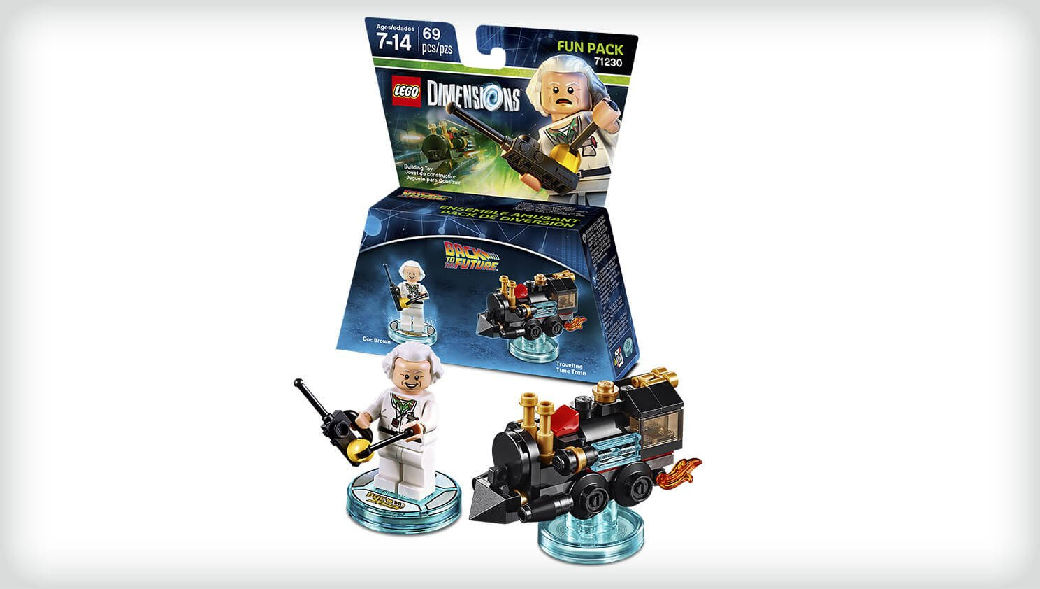 LEGO Dimensions - Back To The Future, Doc Brown: not machine ...