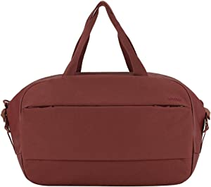 """Incase City Duffel with Integrated Laptop Sleeve [Fits up to 15"""" MacBook] - Deep Red"""