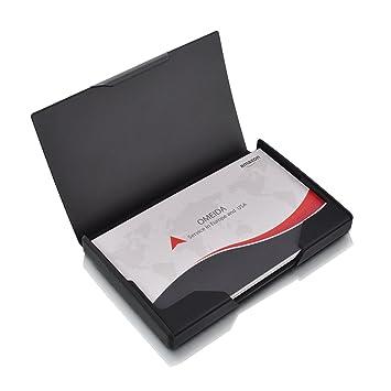 Amazon Maxgear Metal Business Card Holder Case Titanium