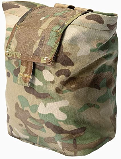 Large Foldable Camping Molle Magazine Dump Drop Pouch Military Recovery Bag