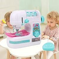 Kinderen naaimachine, elektrisch middelgroot naaimachinespeelgoed, simulatie mini-naaimachine Educatief interessant…