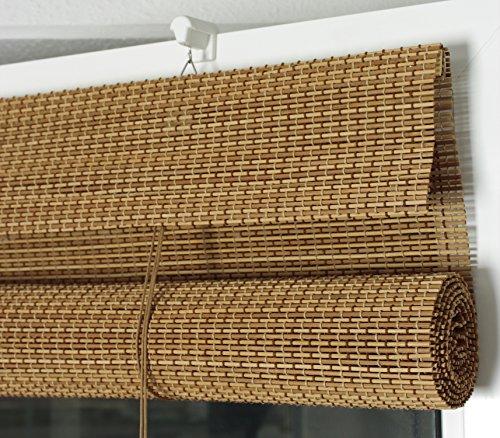 Efixs Premium Bambusrollo Rollup Aus Rundstabchen 70 X 160 Cm