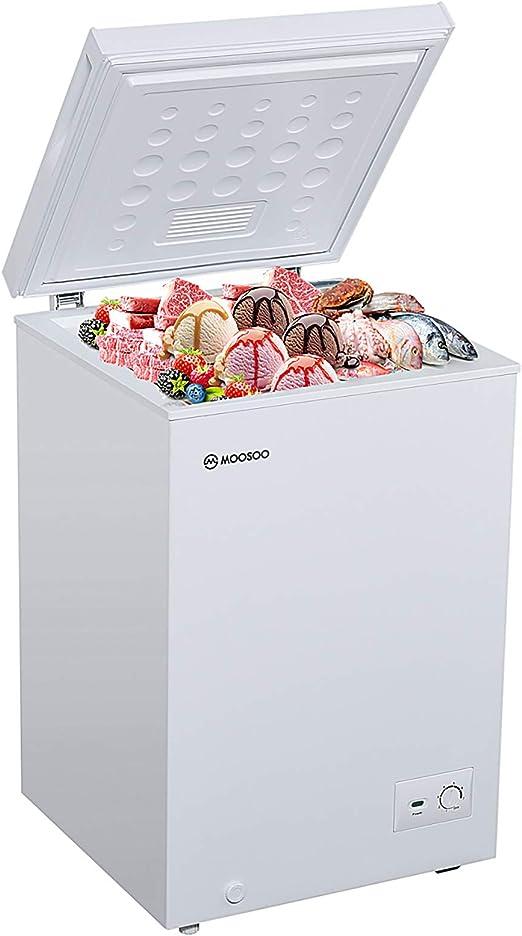 MOOSOO Chest Freezer 7.0CU