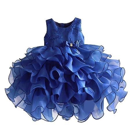 Aszhdfihas Princesa Boda Vestido de niña de Flores Vestido de tutú ...