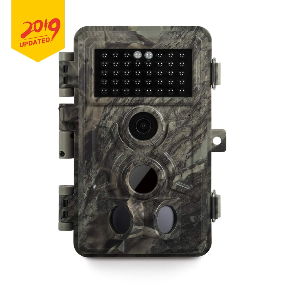 Meidase Game Trail Cameras 20MP 1080P, No Glow Night Vision 65ft, Motion Detecting Trigger Time 0.2s, Waterproof IP66 Field Cam for Nature Wildlife Deer Scouting & Hunting, Indoor & Outdoor Security by Meidase
