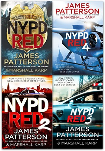 NYPD Red Series Book Set of 4 by James Patterson