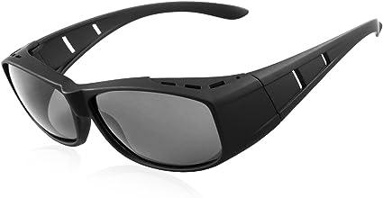 SONNENÜBERBRILLE Sonnenbrille über die Brille für Brillenträger Polarisiert UV