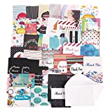 #6: Thank You Cards with Envelopes, 36 Note Blank Cards, B
