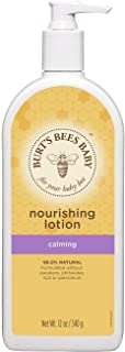 product image for Burt's Bees Baby Nourishing Lotion, Calming Baby Lotion - 12 Ounce Bottle (Pack of 3)