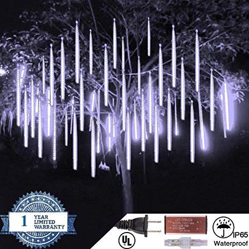 360 Led White Icicle Light Set