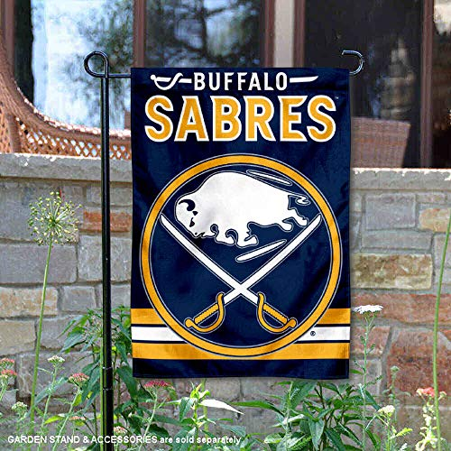 WinCraft Buffalo Sabres Double Sided Garden - Sabres Flag Buffalo