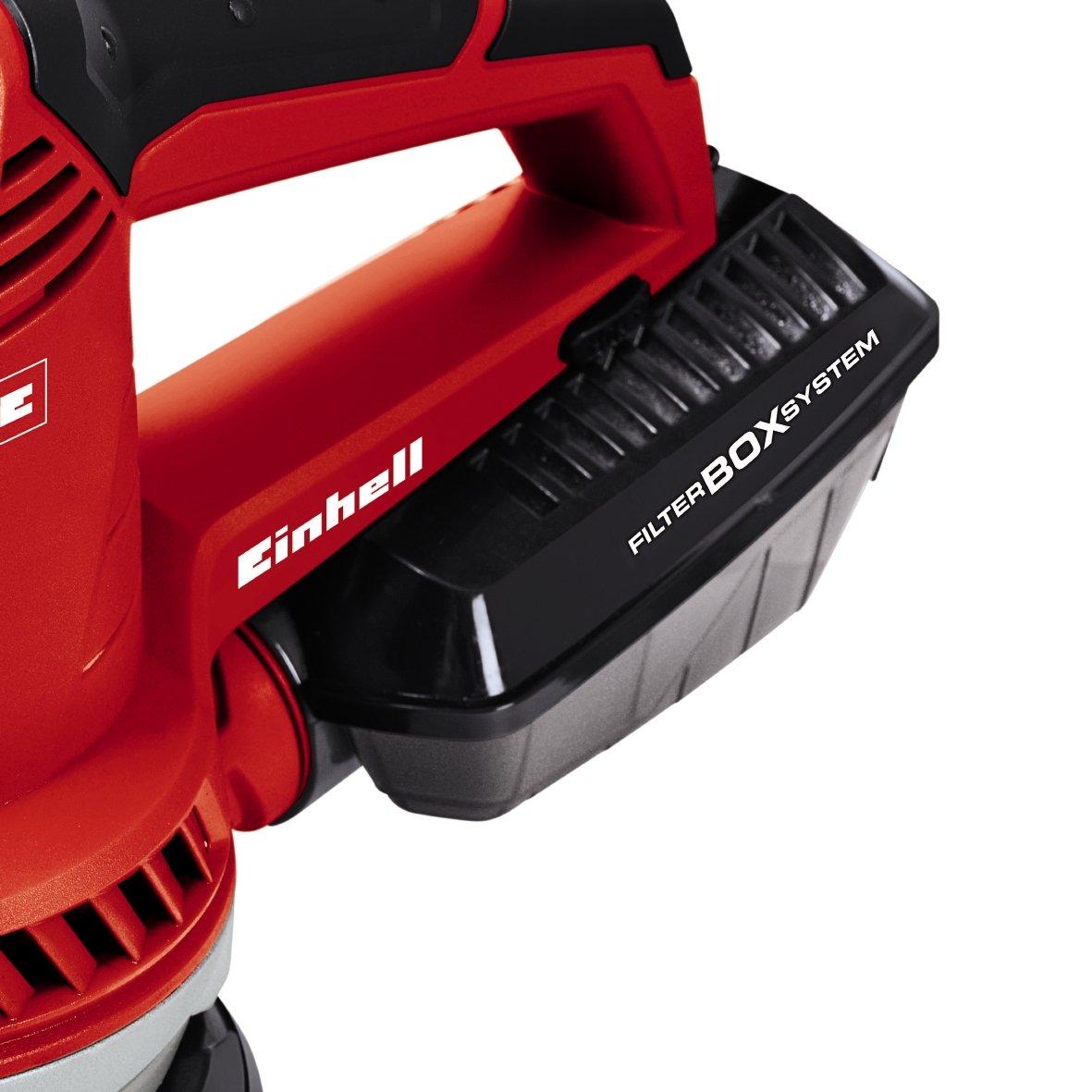 Einhell 4462000 LIJADORA EXCENTRICA Electronica TE-RS 40 E (Incluye maletin BMC), 400 W, 230 V: Amazon.es: Bricolaje y herramientas