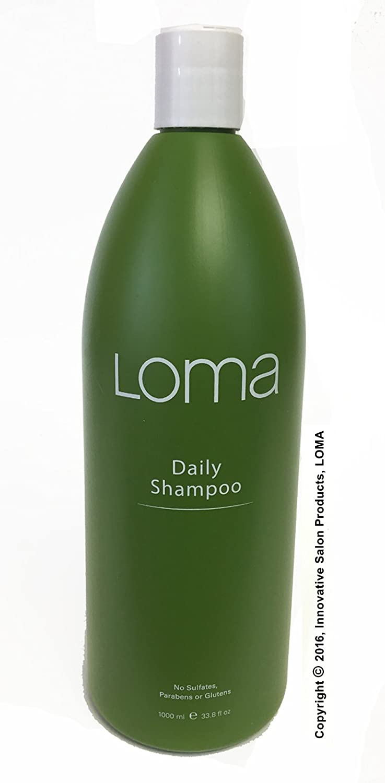 Loma Hair Care Daily Shampoo, Orange/Tangerine, 33.8 Fl Oz (Packaging May Vary)