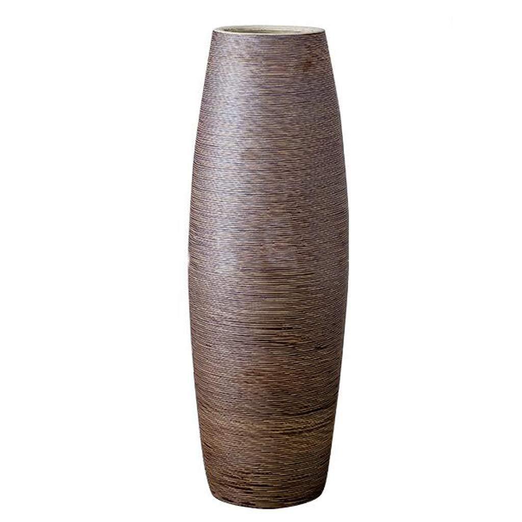 花瓶、クリエイティブファッション現代のミニマリストの花瓶床は古代セラミック陶器磁器工芸装飾フラワーアレンジメントコンテナのセラミックオーナメントを干し B07PLJCMFY