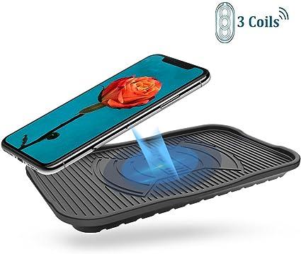 Amazon.com: Silicona Cargador inalámbrico diglot 3-Coil IP67 ...