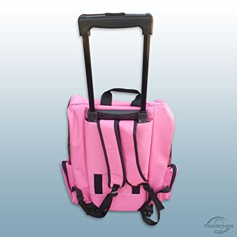 Nanook Trolley/transporte para perros/mochila con ruedas & XL Rosa