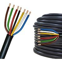 Cable eléctrico multipolar 2-13 hilos para automovìl remolque