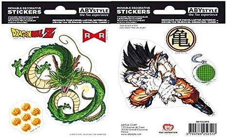 ABYstyle - Dragon Ball - Pegatinas - 16x11cm - Shenron