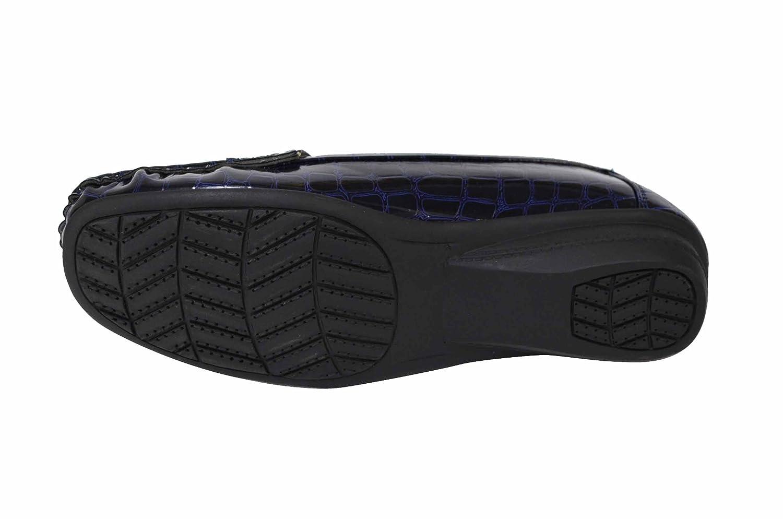 Shoelace Women's Crocodile Embossed Flats (MISS-03)