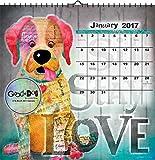 2017 Good Dog - Connie Haley Art Calendar - 12 X 12 Wall Calendar