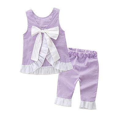 640a21ba13a10 Yiding - Ensemble - Bébé (fille) 0 à 24 mois Violet violet 110cm ...