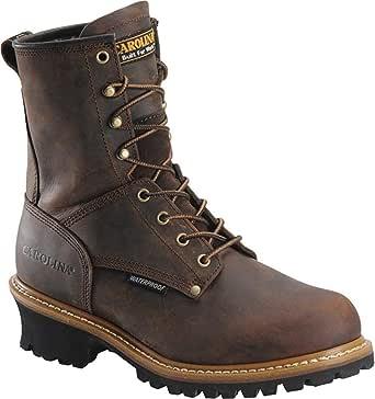 "Men's Carolina® 8"" Steel Toe Loggers Boot"