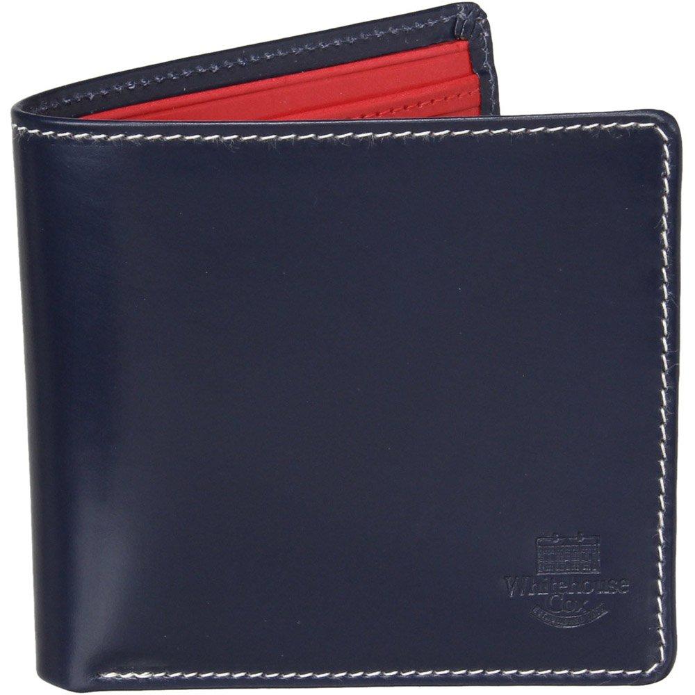 ホワイトハウスコックス(Whitehouse Cox) HolidayLine S7532 二つ折り財布 【正規販売店】 B0773FZ51Nマリンレッド